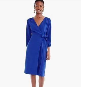 NWT J Crew 365 Crepe Wrap Dress Sz 2
